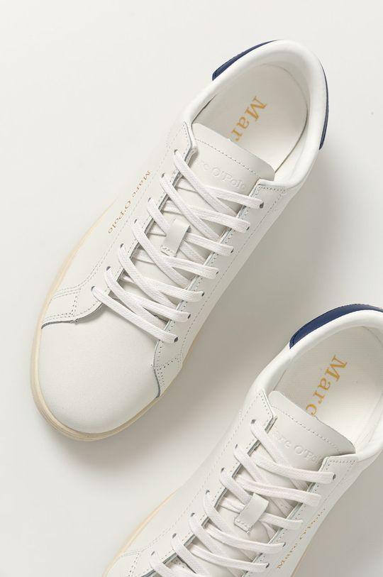 biela Marc O'Polo - Kožená obuv