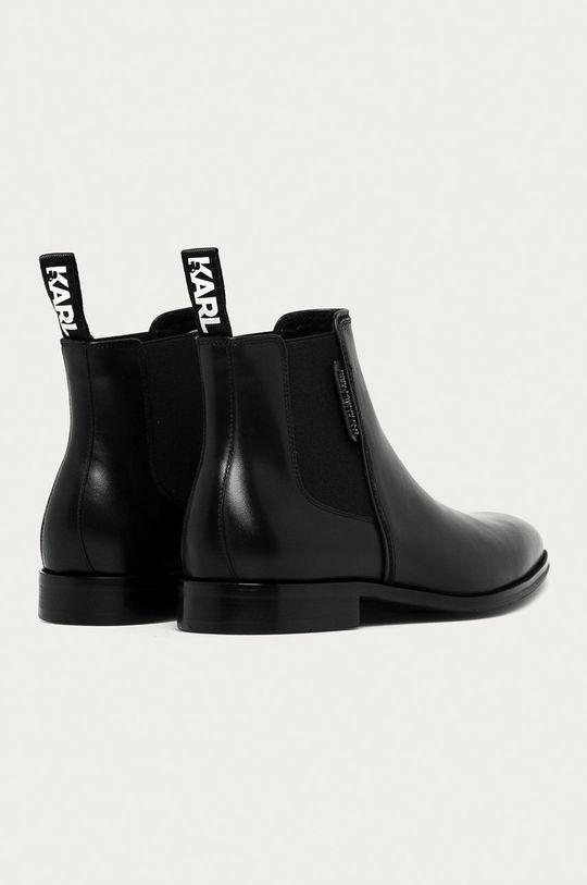 Karl Lagerfeld - Kožené kotníkové boty  Svršek: Přírodní kůže Vnitřek: Přírodní kůže Podrážka: Umělá hmota