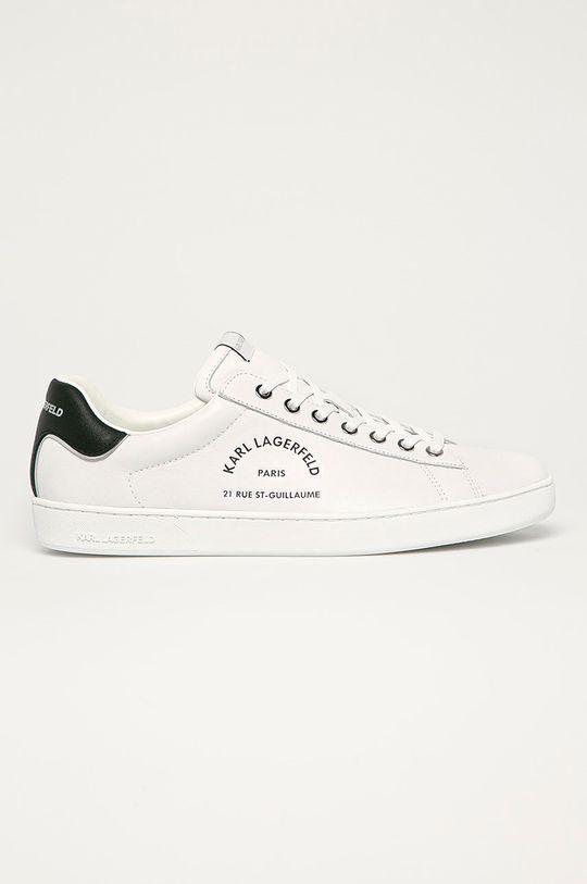 biela Karl Lagerfeld - Kožená obuv Pánsky