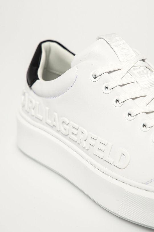Karl Lagerfeld - Buty skórzane Cholewka: Skóra naturalna, Wnętrze: Materiał syntetyczny, Podeszwa: Materiał syntetyczny