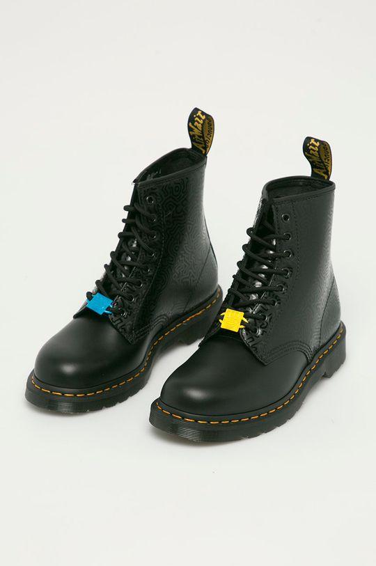 Dr. Martens - Farmářky x Keith Haring černá