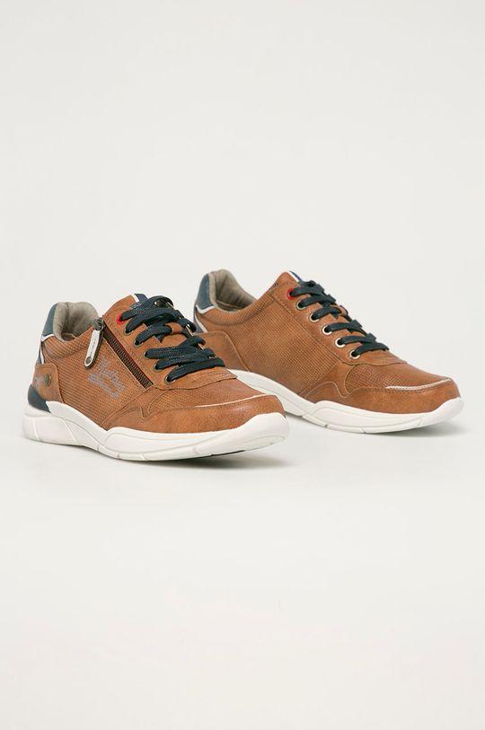 Mustang - Topánky hnedá