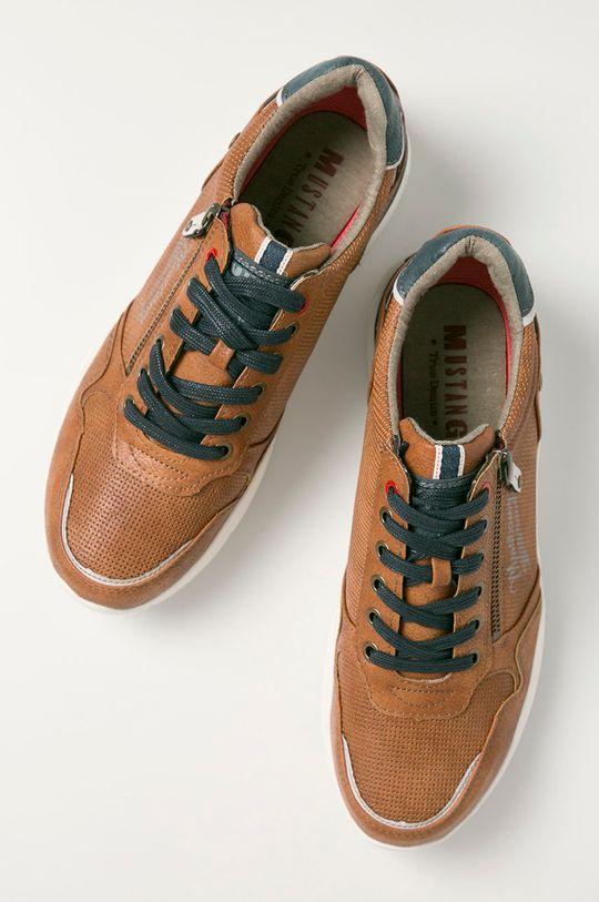 hnedá Mustang - Topánky