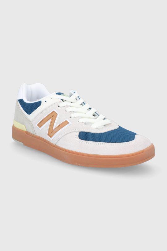 New Balance - Buty AM574WYG kremowy