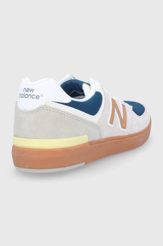New Balance - Buty AM574WYG Cholewka: Materiał tekstylny, Skóra naturalna, Skóra zamszowa, Wnętrze: Materiał tekstylny, Podeszwa: Materiał syntetyczny