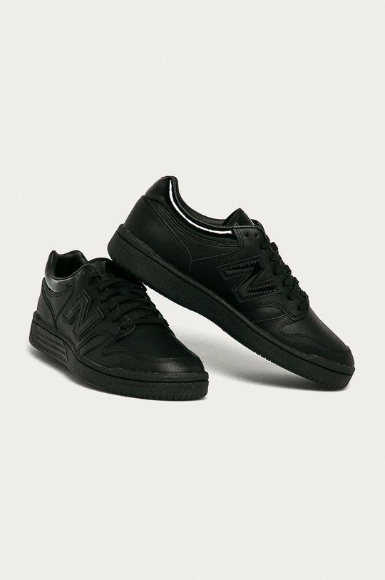 New Balance - Topánky BB480LBG čierna