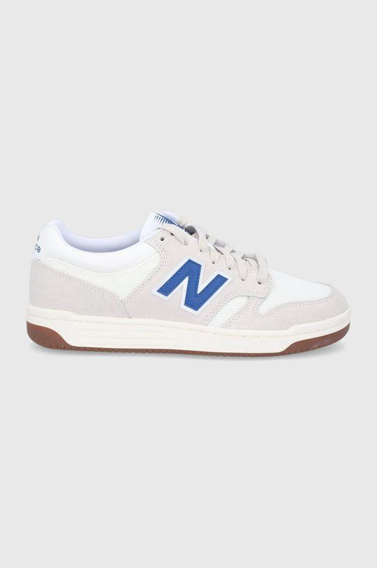biały New Balance - Buty BB480LVM Męski