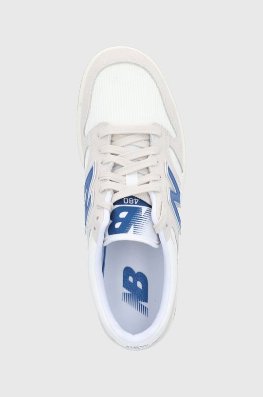 biały New Balance - Buty BB480LVM