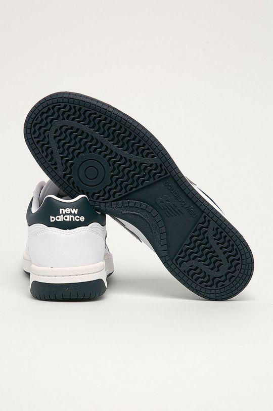 New Balance - Kožená obuv BB480LWG  Zvršok: Prírodná koža Vnútro: Textil Podrážka: Syntetická látka