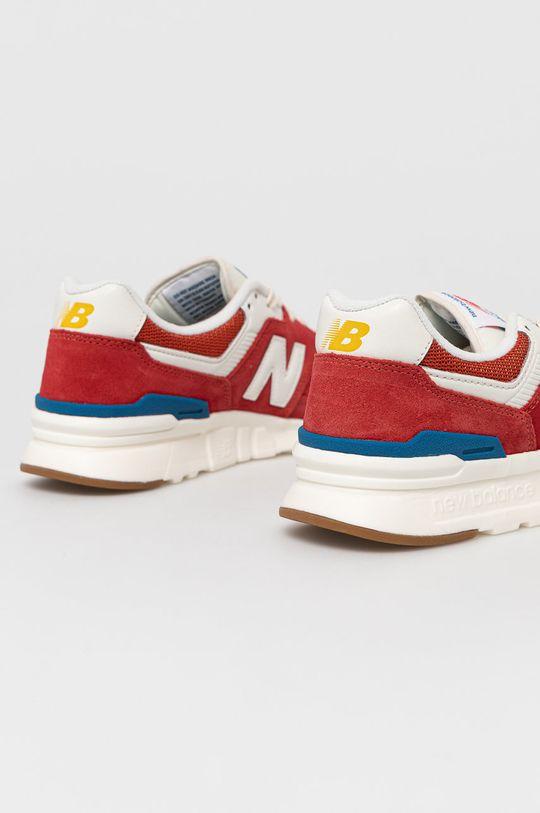New Balance - Topánky CM997HRG  Zvršok: Textil, Prírodná koža Vnútro: Textil Podrážka: Syntetická látka