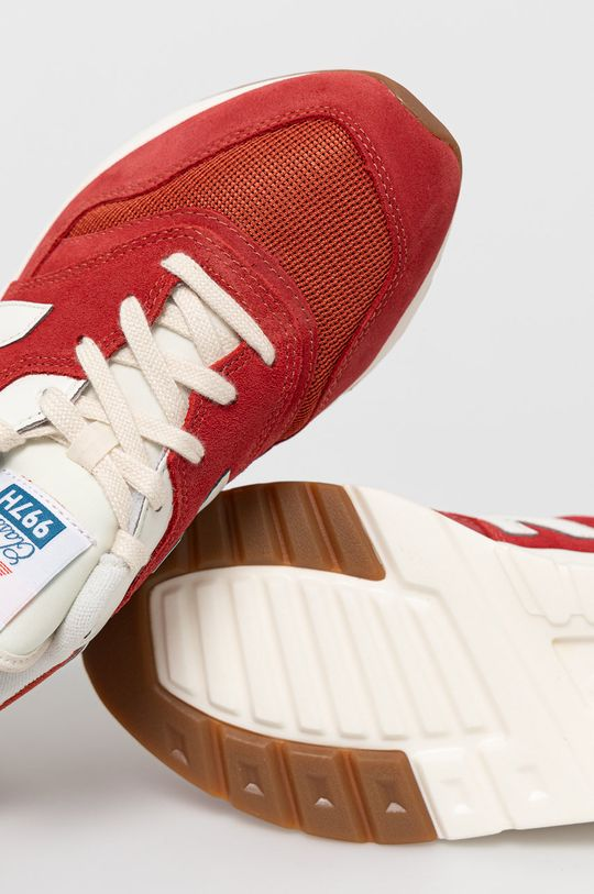 sýtočervená New Balance - Topánky CM997HRG