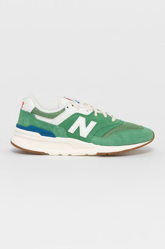 zielony New Balance - Buty CM997HRL Męski