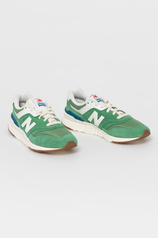 New Balance - Buty CM997HRL zielony