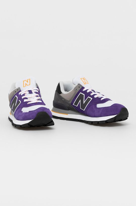 New Balance - Buty ML574DTB fioletowy