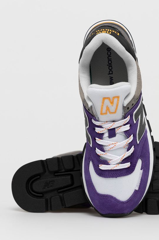 fioletowy New Balance - Buty ML574DTB