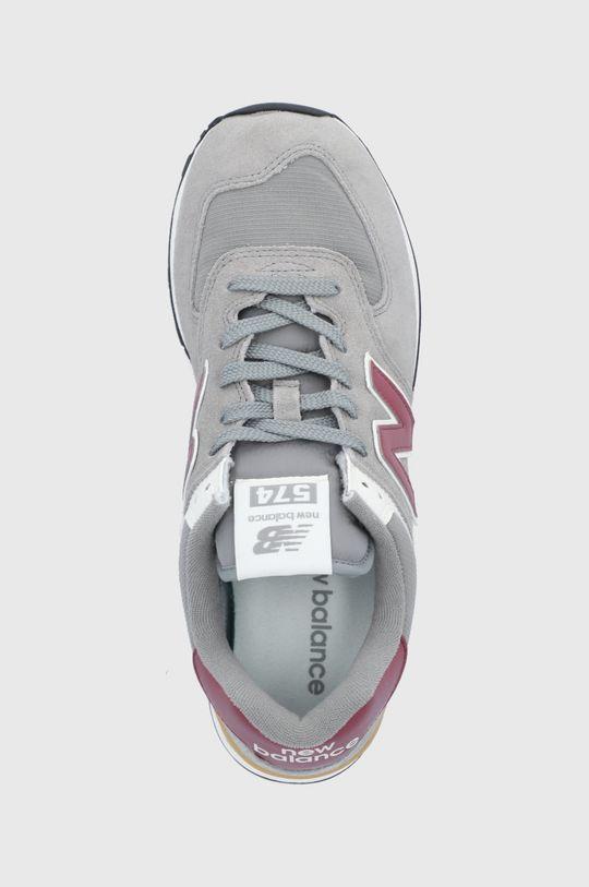 sivá New Balance - Topánky ML574ME2