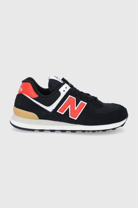 čierna New Balance - Topánky ML574ML2 Pánsky