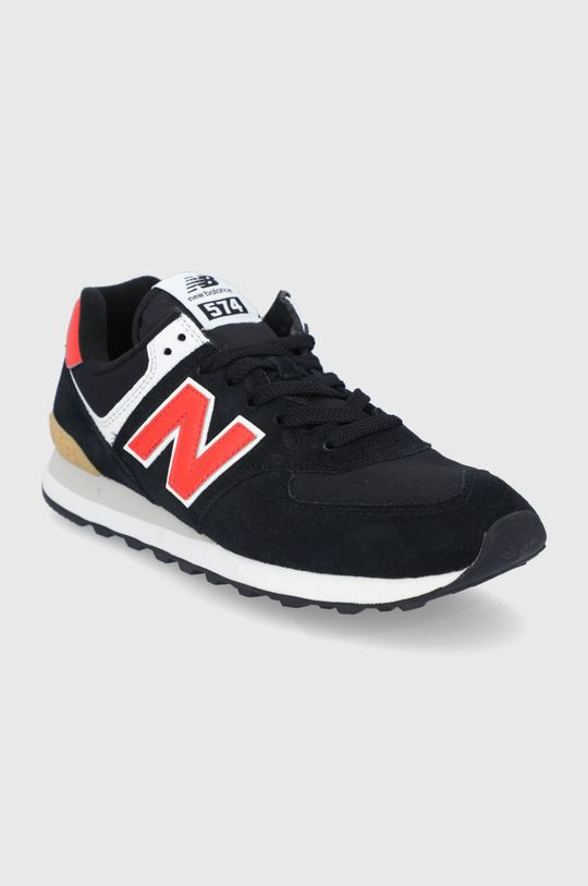 New Balance - Topánky ML574ML2 čierna