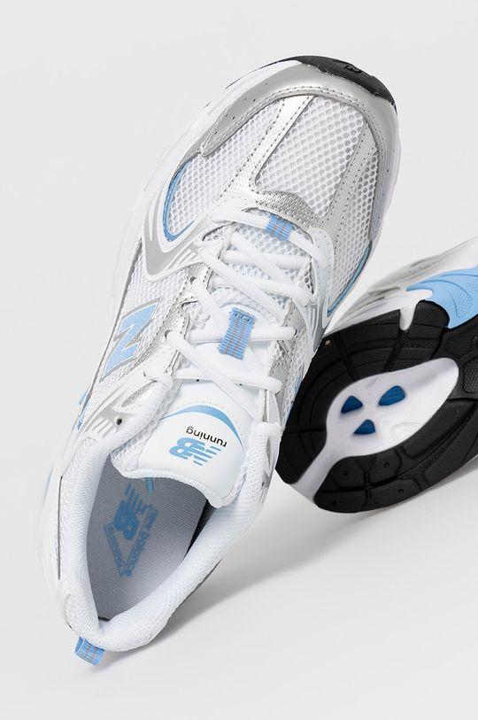 biela New Balance - Topánky MR530MIC