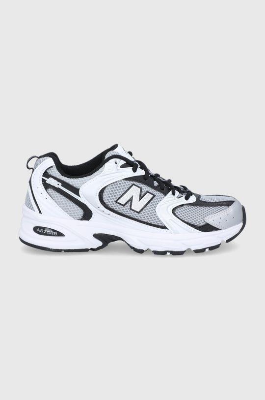 strieborná New Balance - Topánky MR530USX Pánsky
