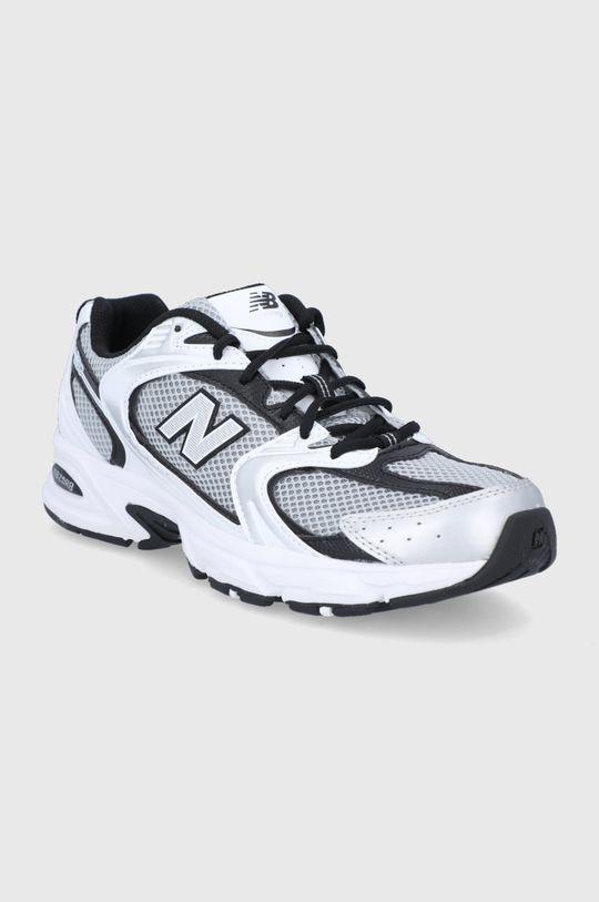 New Balance - Topánky MR530USX strieborná