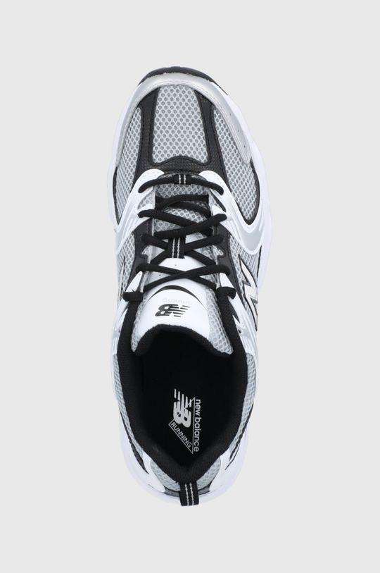 strieborná New Balance - Topánky MR530USX