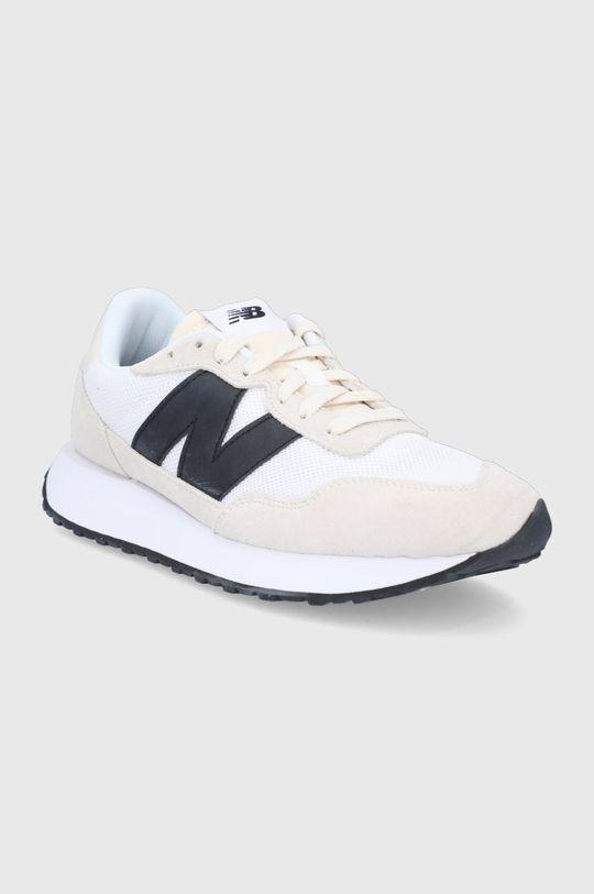 New Balance - Topánky MS237CB krémová