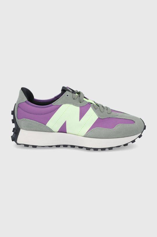 fialová New Balance - Topánky MS327TC Pánsky