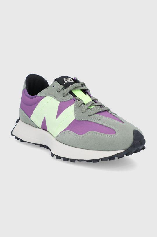 New Balance - Topánky MS327TC fialová
