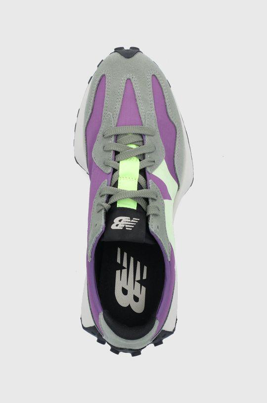 fialová New Balance - Topánky MS327TC