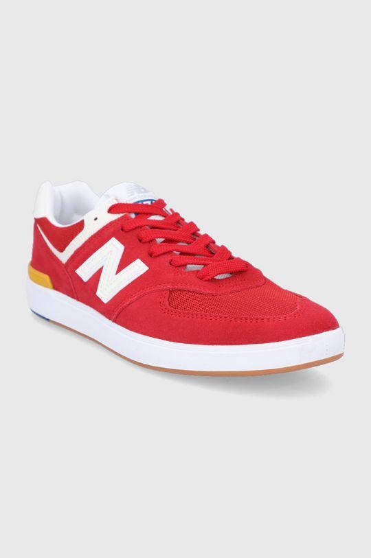 New Balance - Topánky AM574RWY červená