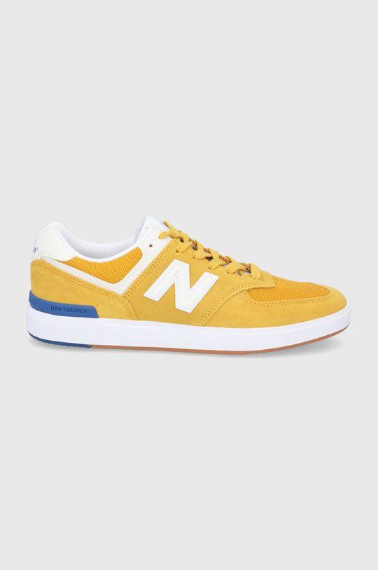 horčicová New Balance - Topánky AM574YWB Pánsky