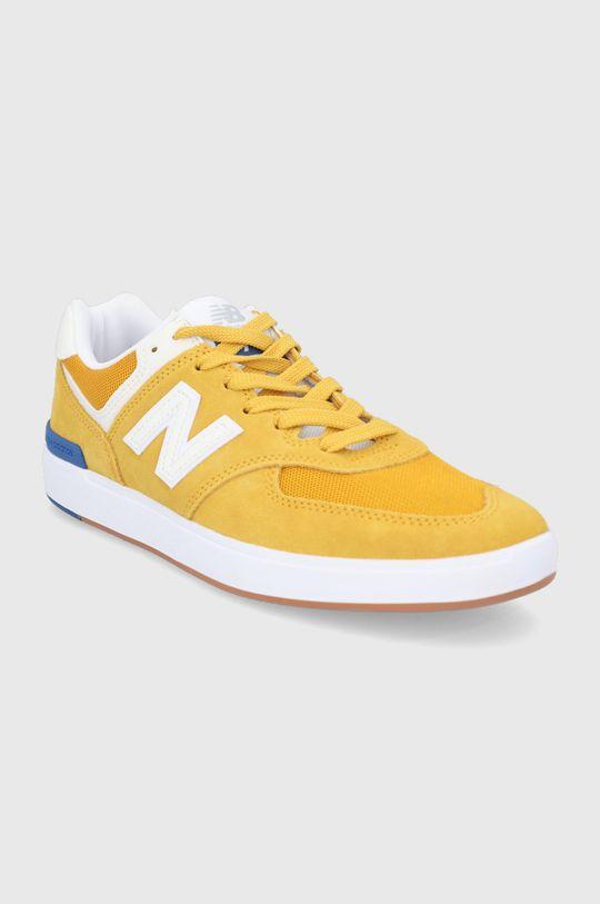 New Balance - Topánky AM574YWB horčicová