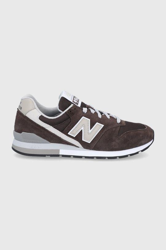 hnedá New Balance - Topánky CM996SHB Pánsky