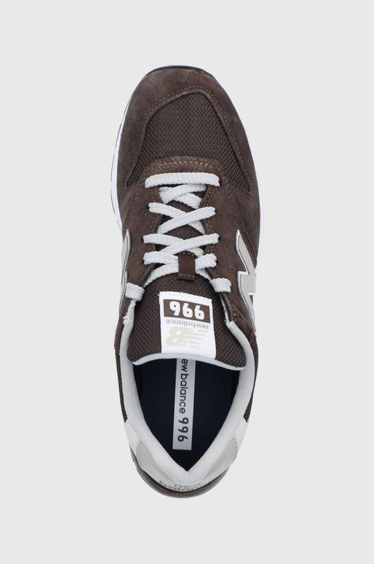 hnedá New Balance - Topánky CM996SHB