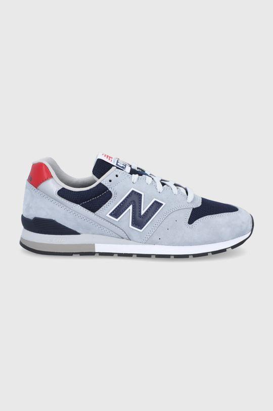 sivá New Balance - Topánky CM996SHD Pánsky