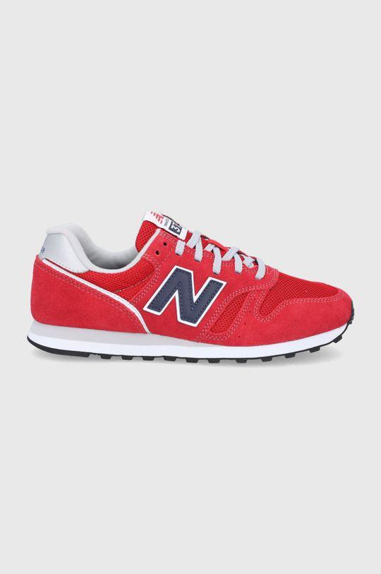 czerwony New Balance - Buty ML373CP2 Męski
