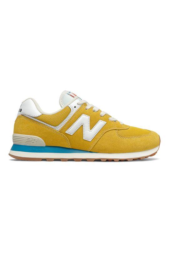 horčicová New Balance - Topánky ML574HB2 Pánsky