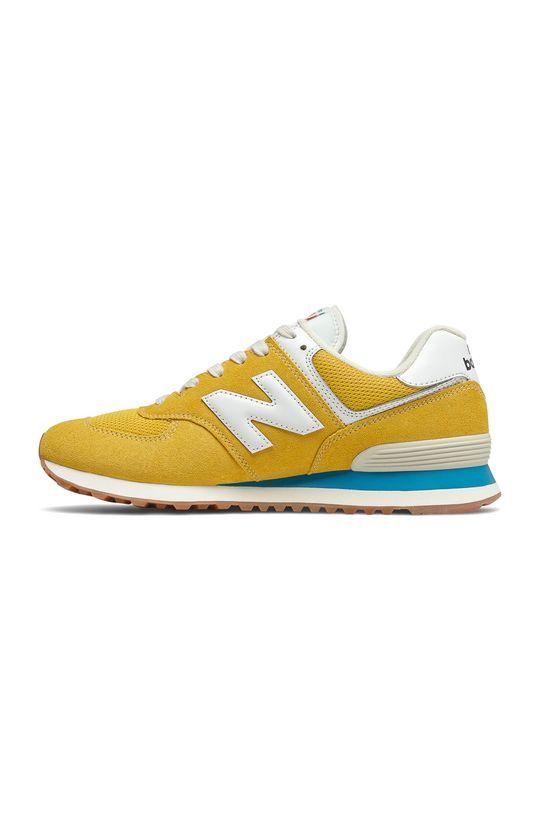 New Balance - Topánky ML574HB2 horčicová