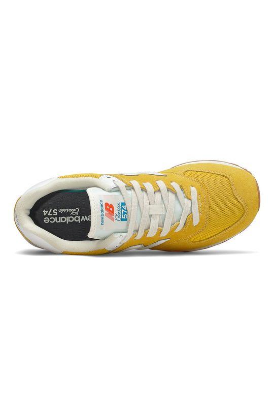 New Balance - Topánky ML574HB2  Zvršok: Syntetická látka, Textil, Semišová koža Vnútro: Textil Podrážka: Syntetická látka