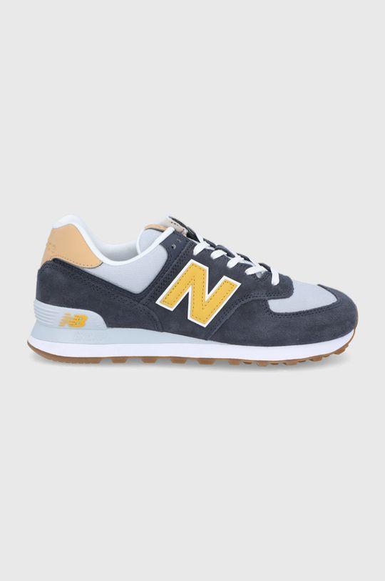 tmavomodrá New Balance - Topánky ML574NA2 Pánsky