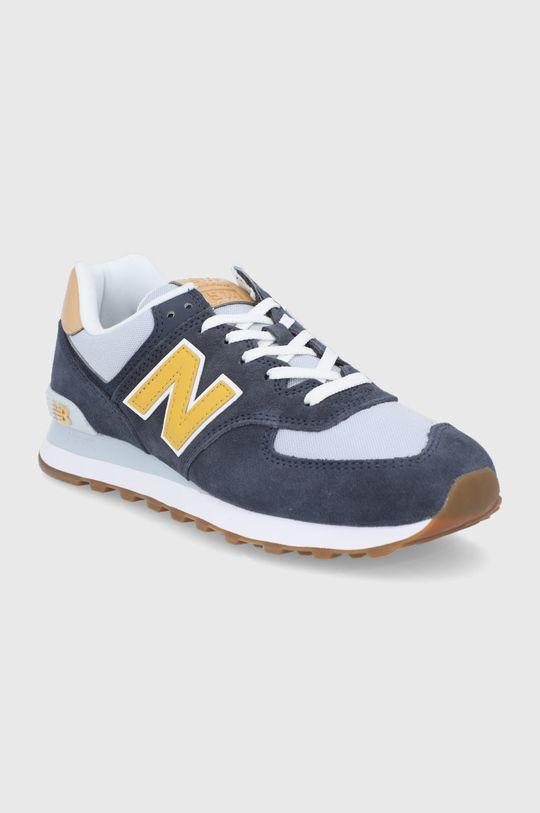 New Balance - Topánky ML574NA2 tmavomodrá