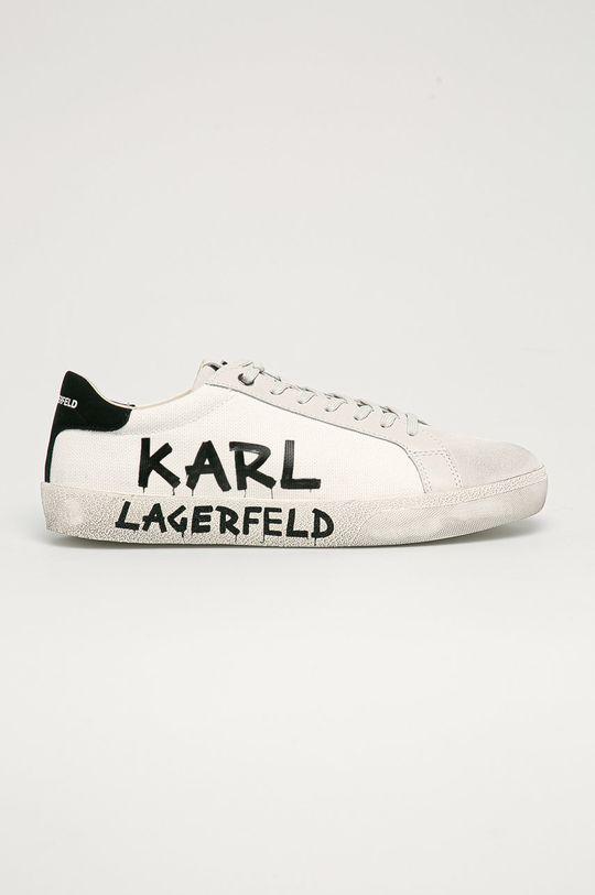 bílá Karl Lagerfeld - Boty Pánský