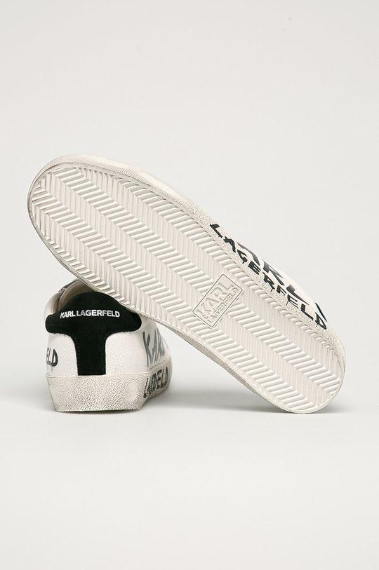 Karl Lagerfeld - Boty  Svršek: Textilní materiál, Přírodní kůže, Semišová kůže Vnitřek: Přírodní kůže Podrážka: Umělá hmota