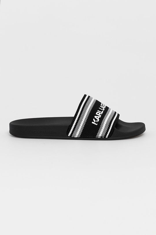 černá Karl Lagerfeld - Pantofle Pánský