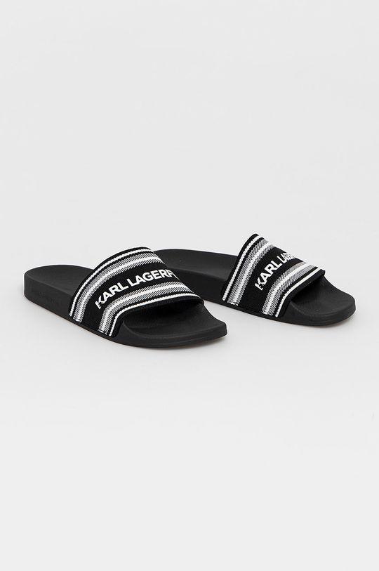 Karl Lagerfeld - Pantofle černá