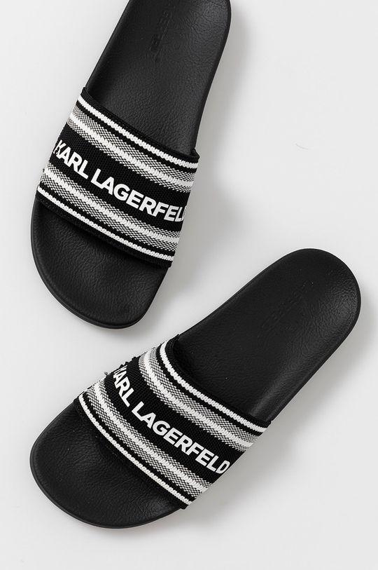 Karl Lagerfeld - Pantofle  Svršek: Textilní materiál Vnitřek: Umělá hmota, Textilní materiál Podrážka: Umělá hmota