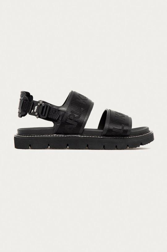 čierna Karl Lagerfeld - Sandále Pánsky