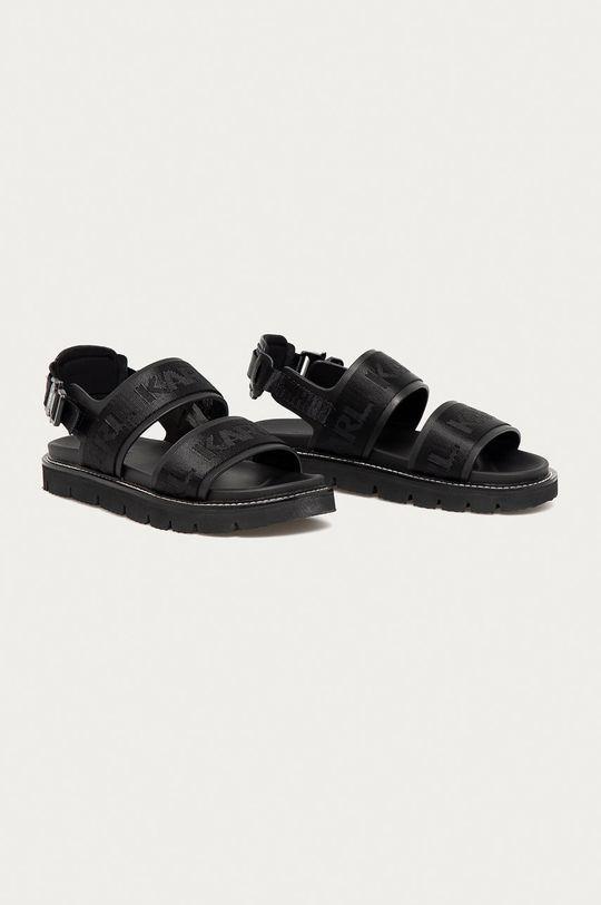 Karl Lagerfeld - Sandále čierna