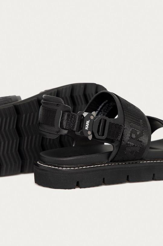 Karl Lagerfeld - Sandále  Zvršok: Textil, Prírodná koža Vnútro: Syntetická látka, Prírodná koža Podrážka: Syntetická látka